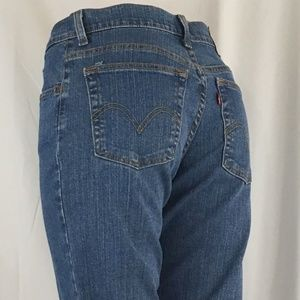 Levi's Jeans - Levis 550 Relaxed Fit Boot Cut size 8M ( NWOT )